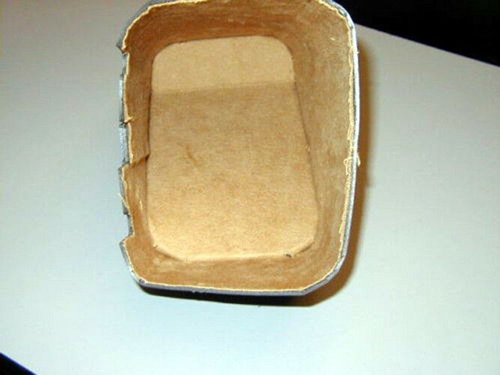 1937 CADILLAC SERIES 60 2ND DESIGN GLOVE BOX, TAN FELT