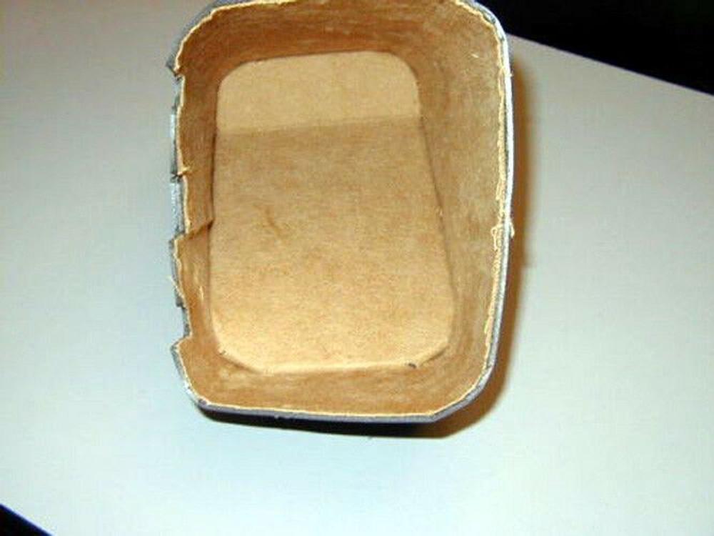 1937 CADILLAC LASALLE SERIES 50 TAN FELT  GLOVE BOX LINER