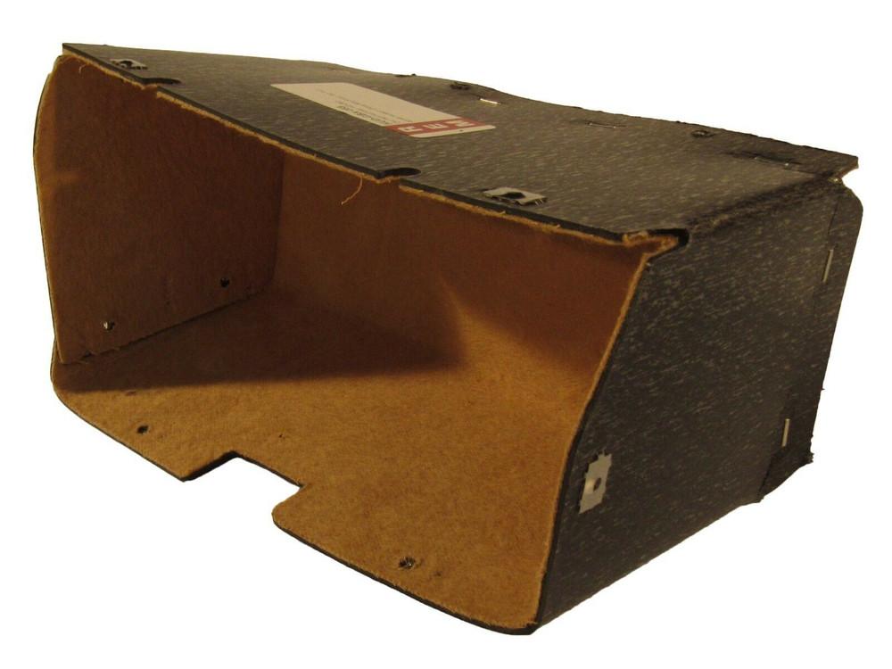 1948 - 1949 HUDSON GLOVE BOX, SMALL, TAN FELT