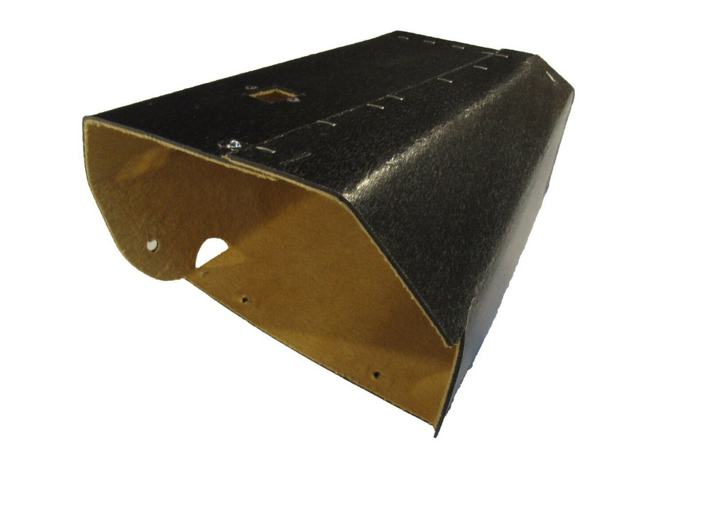 1941 CADILLAC GLOVE BOX LINER, TAN FELT