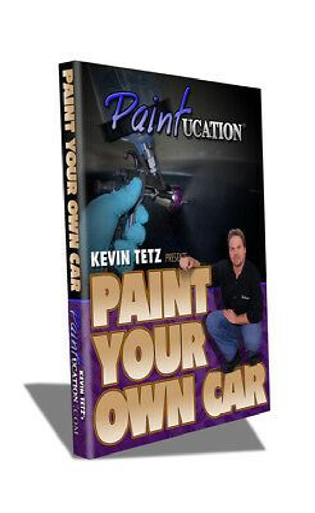 PAINTUCATION DVD PAINT YOUR CAR II TETZ NEW RELEASE