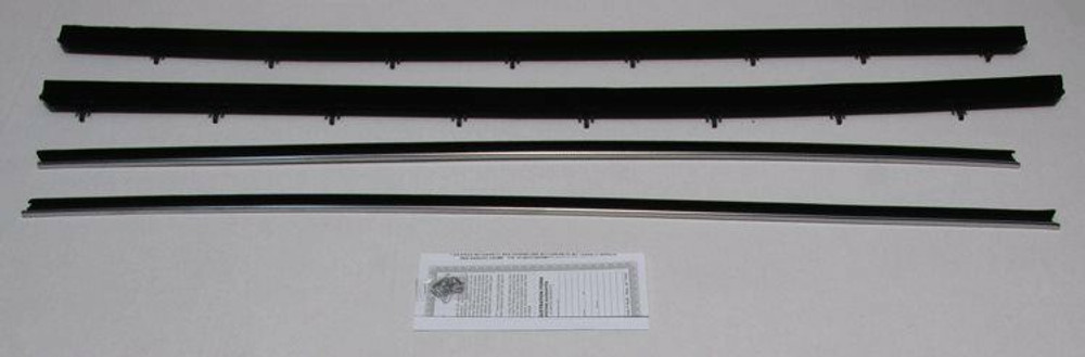 1972 -1976 FORD RANCHERO WINDOW WEATHERSTRIP KIT, 4 PIECES