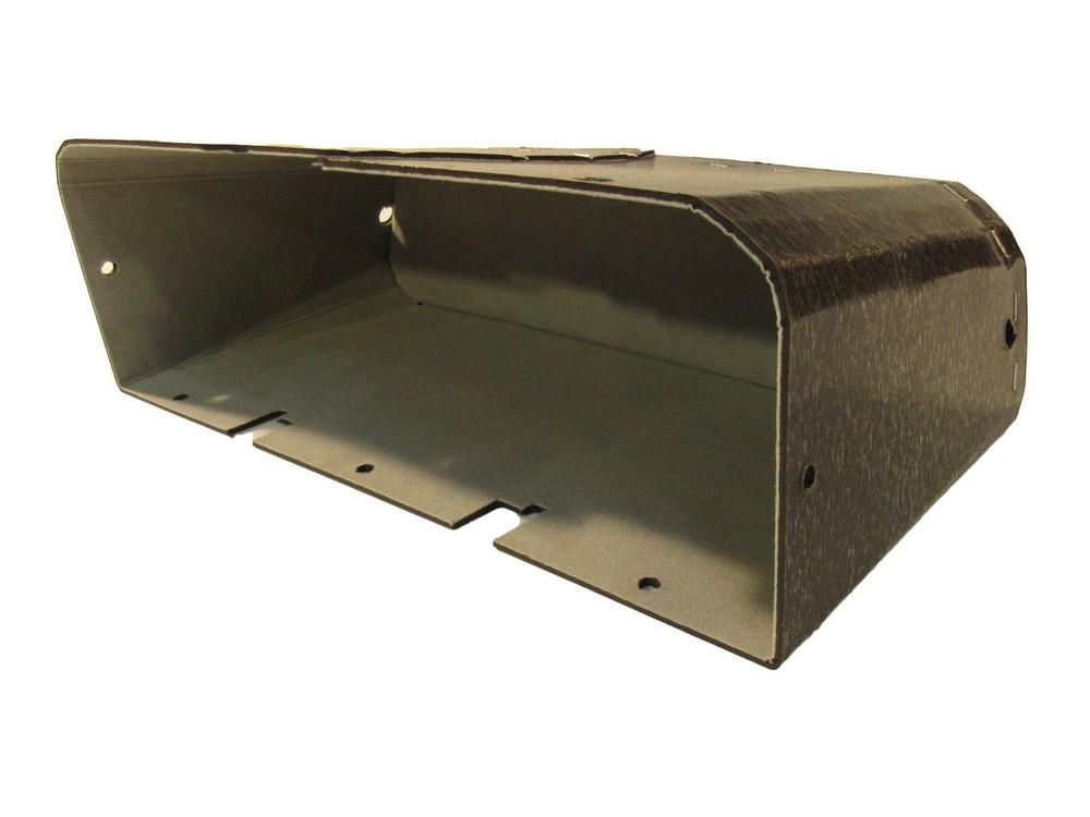 1934 PONTIAC MODEL 603 GLOVE BOX, GRAY FELT