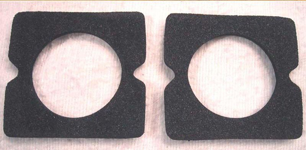 1941-1949 International K, KB  front grill marker lamp lens seal gasket pair