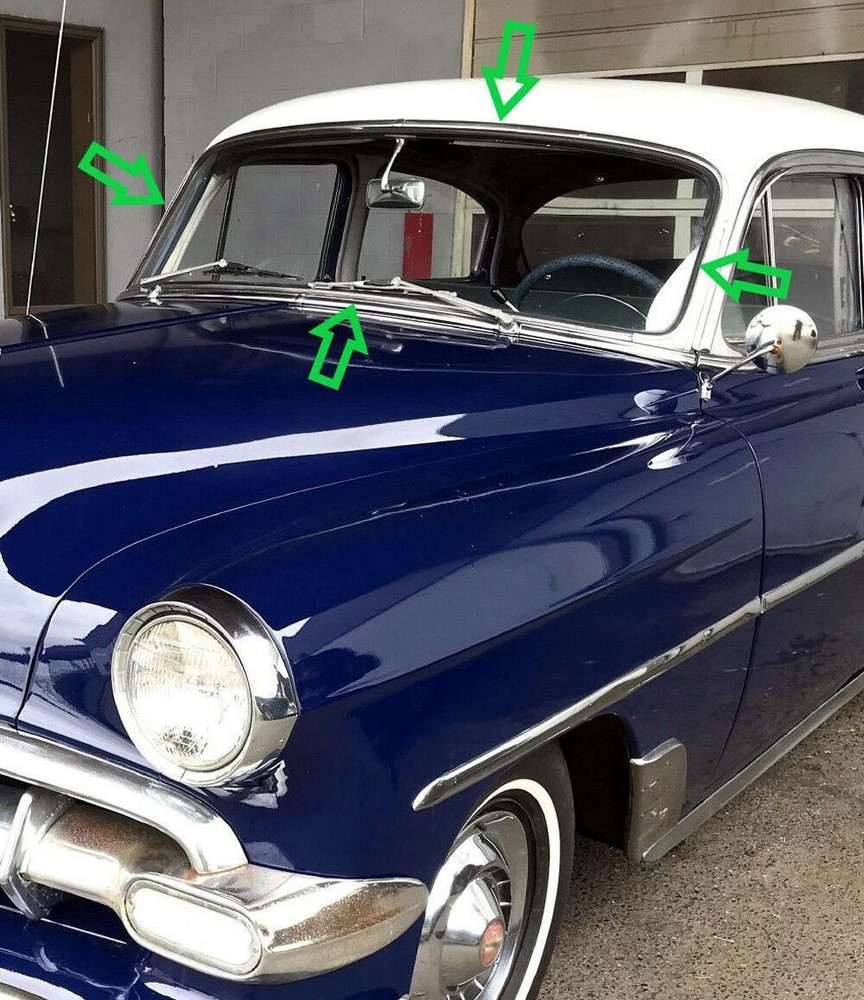 Made in the U.S.A.! Chevrolet Bel Air Convertible Top Boot 1953-1954