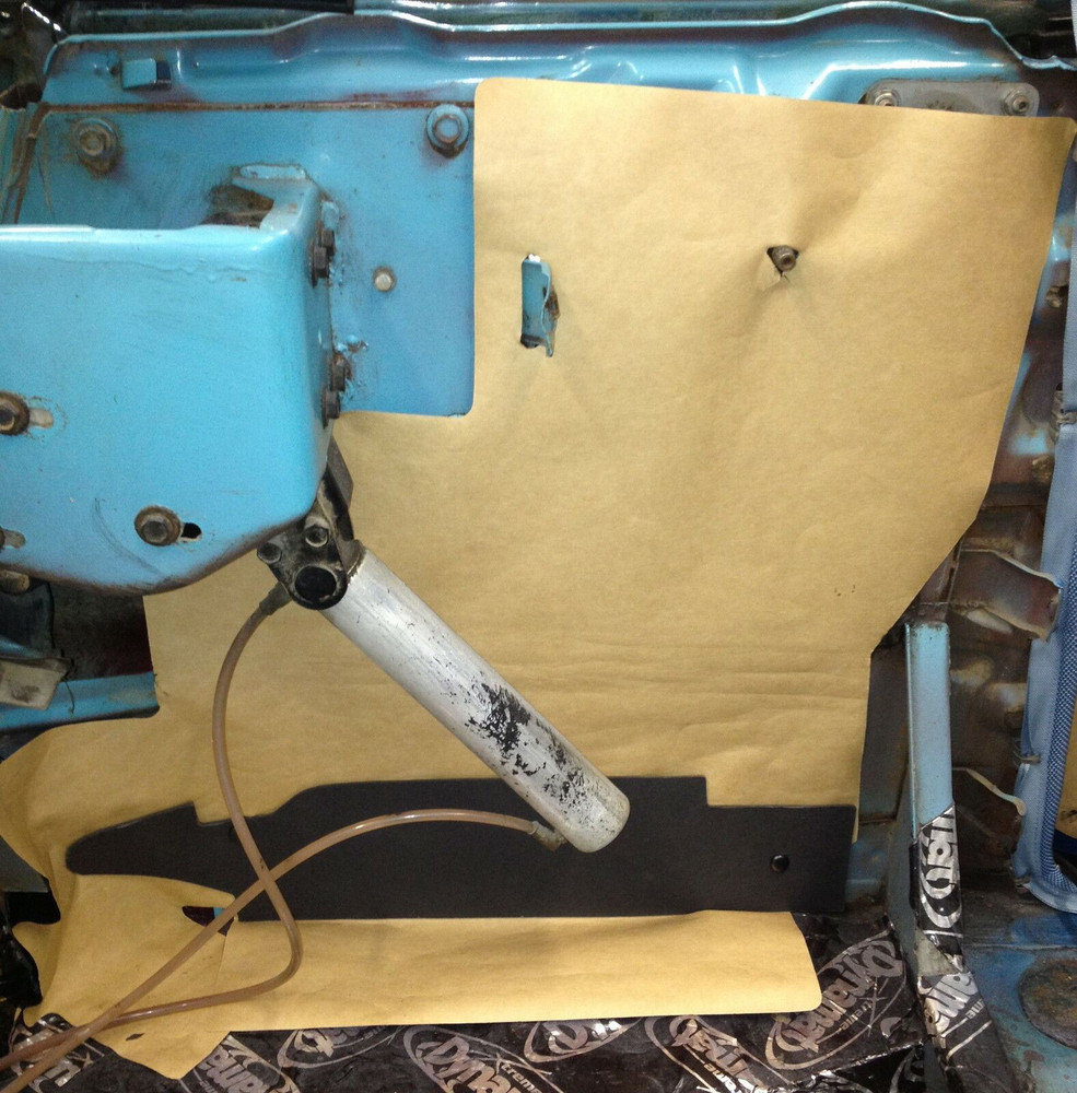 1964 FORD GALAXIE, XL and 500 CONVERTIBLE WATERSHIELD KIT 4 PIECES