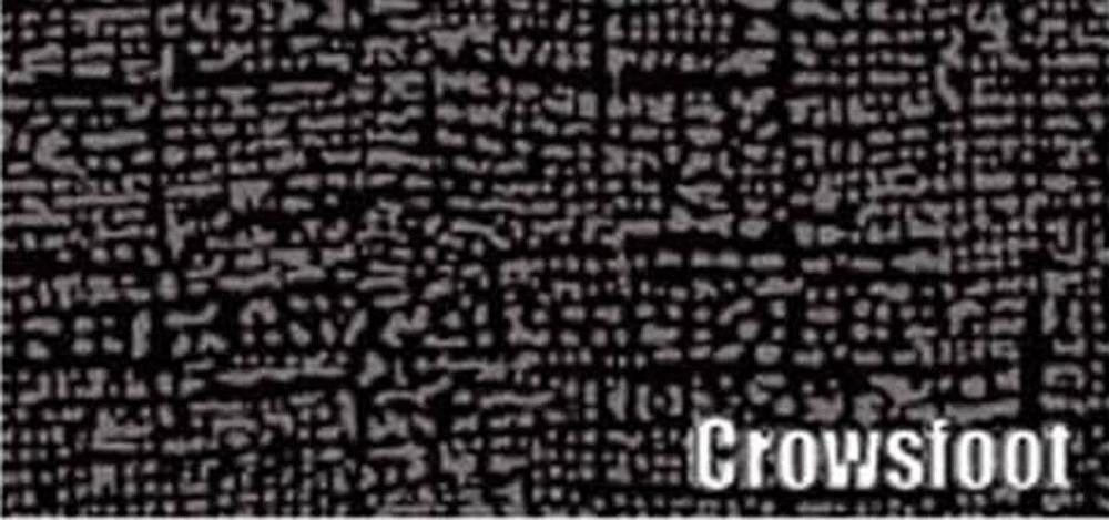 1955-1956 PLYMOUTH SAVOY & BELVEDERE RUBBER TRUNK MAT, CROWSFOOT PATTERN