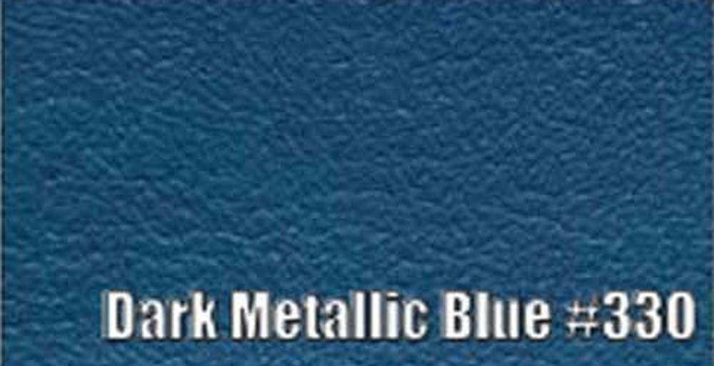 1966 PLYMOUTH BELVEDERE CONVERTIBLE SUN VISORS, COLOGNE PATTERN, DARK. MET BLUE