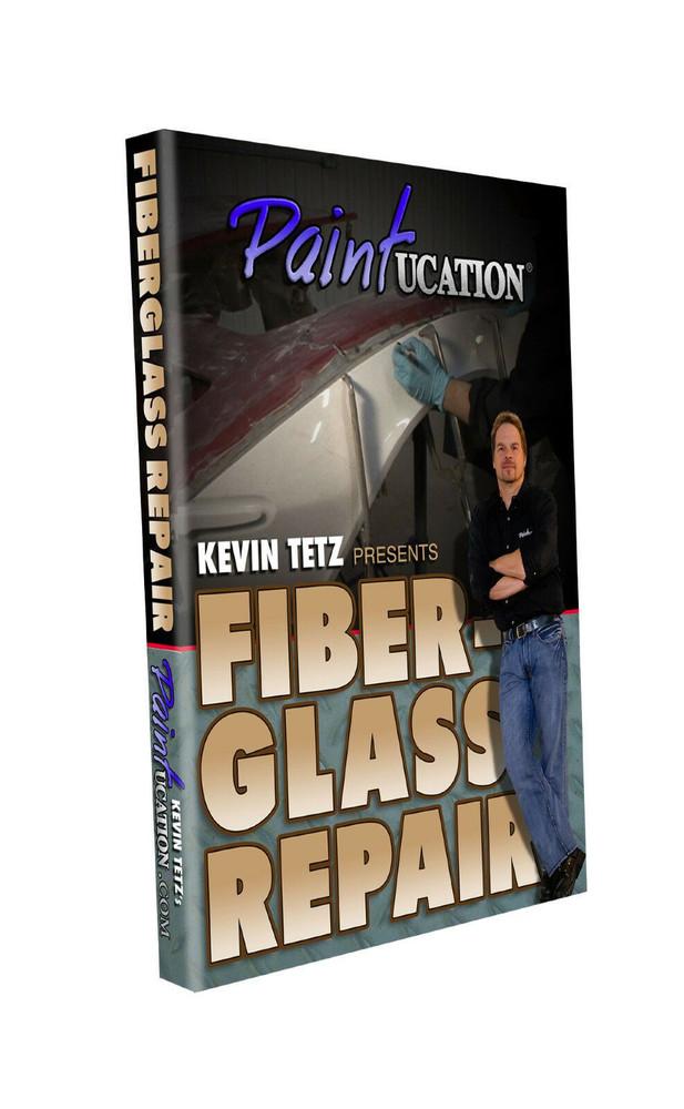 Fiberglass Repair DVD Kevin Tetz Paintucation New!