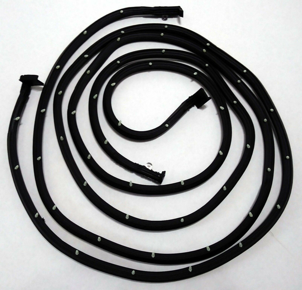 Door Weatherstrip Seal pair for 55-57 Chevrolet 2 Door Hardtop & Convertible