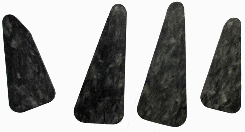 1971-72 BUICK LESABRE  CENTURION  ELECTRA  HOOD INSULATION KIT INCLUDES CLIPS