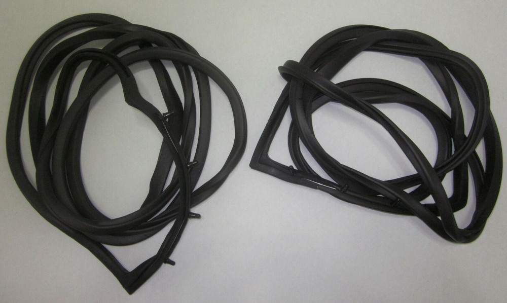 1961-1967 FORD ECONOLINE DOOR  WEATHERSTRIP FOR BOTH FRONT DOORS, PAIR