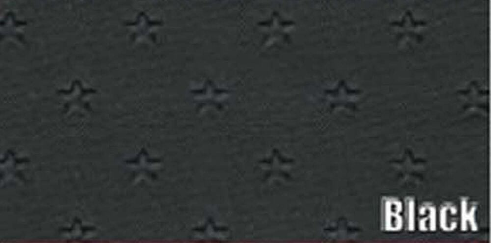 1961 CHEVY IMPALA 2 & 4 DR. HARDTOP SUNVISORS, STAR PATTERN, BLACK COLOR, PAIR