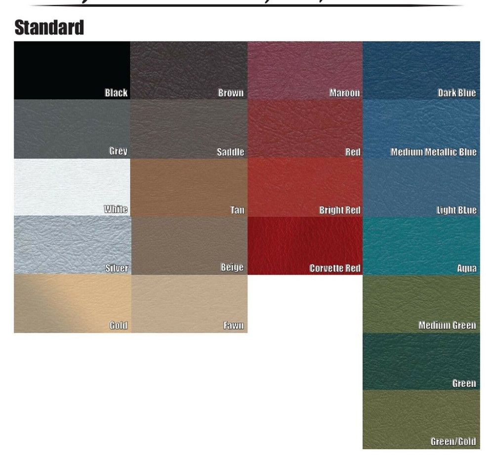 1959-1960 PONTIAC STAR CHIEF REGULAR PACKAGE TRAY, 21 COLORS