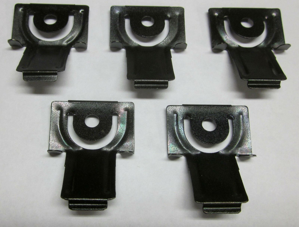 1963-1965 FORD FALCON, MERCURY COMET WINDSHIELD MOLDING CLIP SET (5 PER VEHICLE)