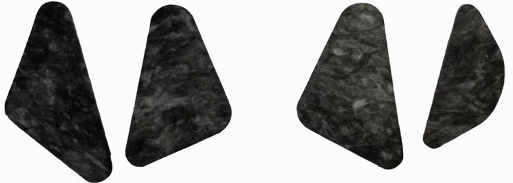 1962-1965 CHEVY NOVA HOOD INSULATION KIT, 4 PC