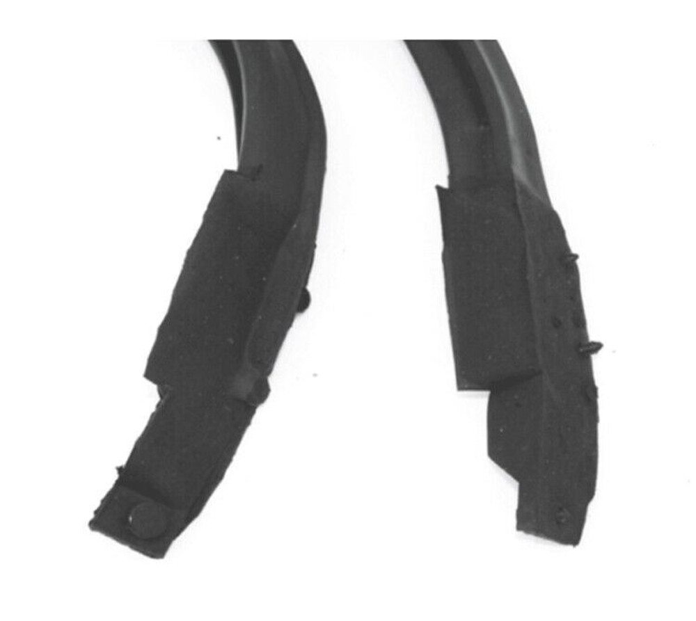 1969-72 GM 2 DOOR HARDTOP ROOF RAIL WEATHERSTRIP KIT, 2 PIECES