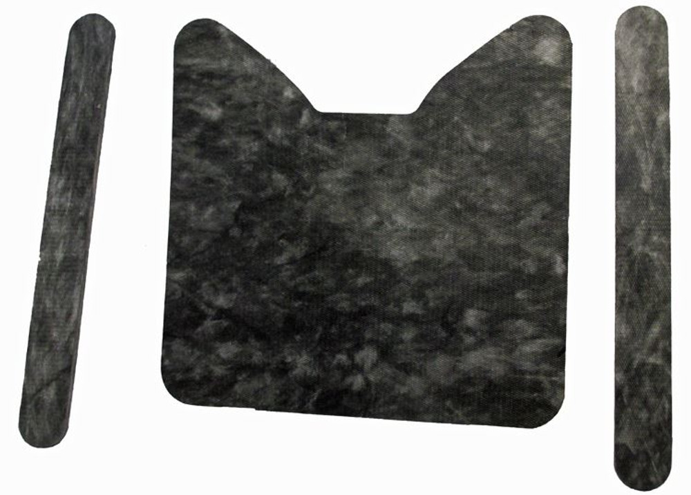 1964 & EARLY 1965 FORD THUNDERBIRD HOOD INSULATION KIT, 3 PIECES
