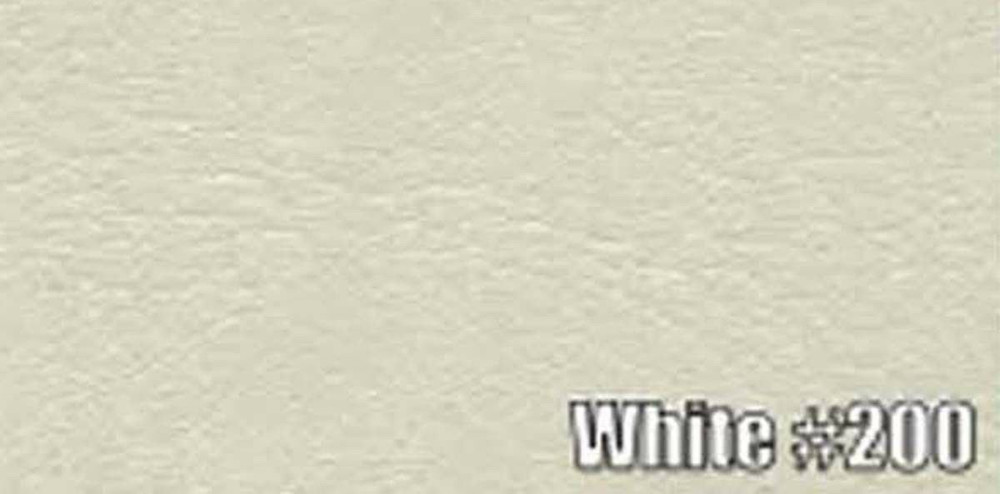 1974 DODGE DART HARDTOP SUN VISORS, OXFORD PATTERN, WHITE COLOR