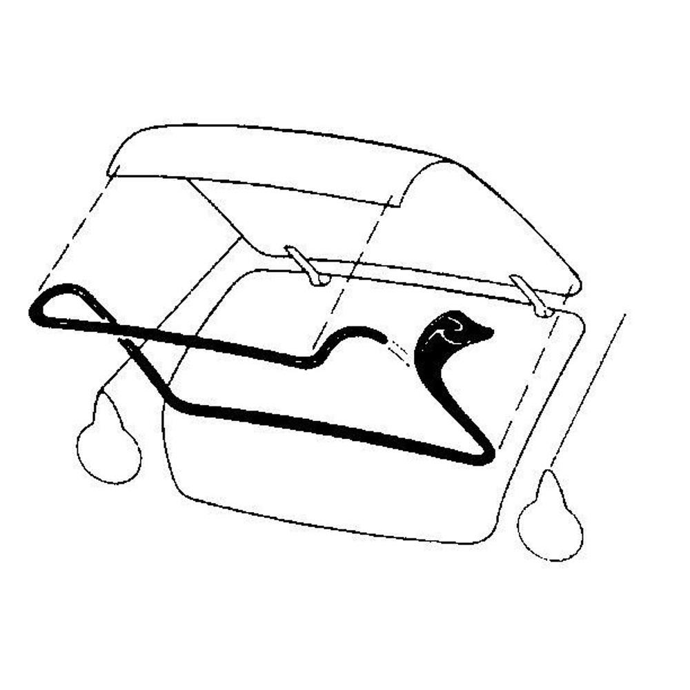 1955-1960 FORD THUNDERBIRD TRUNK WEATHERSTRIP SEAL