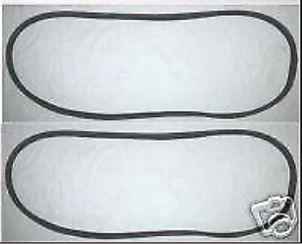 1970-1980 International Harvester Scout II sliding side window seals pair USA