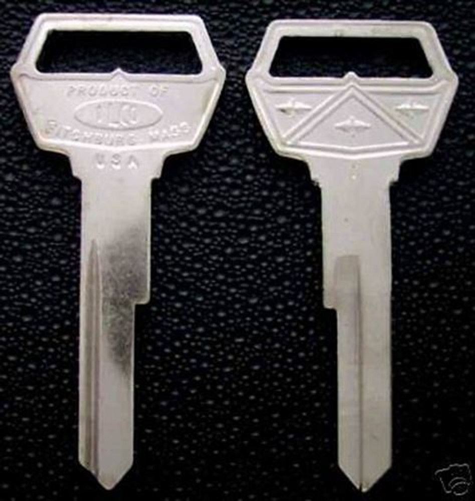 Fairlane ignition and doors key blank new old stock 1962-65  USA made