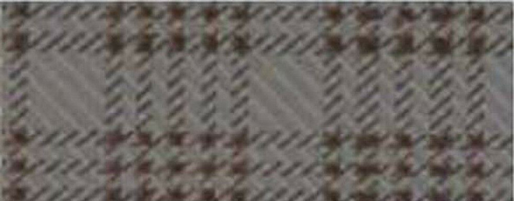 1966-1967 PLYMOUTH ROADRUNNER & GTX RUBBER TRUNK MAT, PRINTED TAN PLAID PATTERN