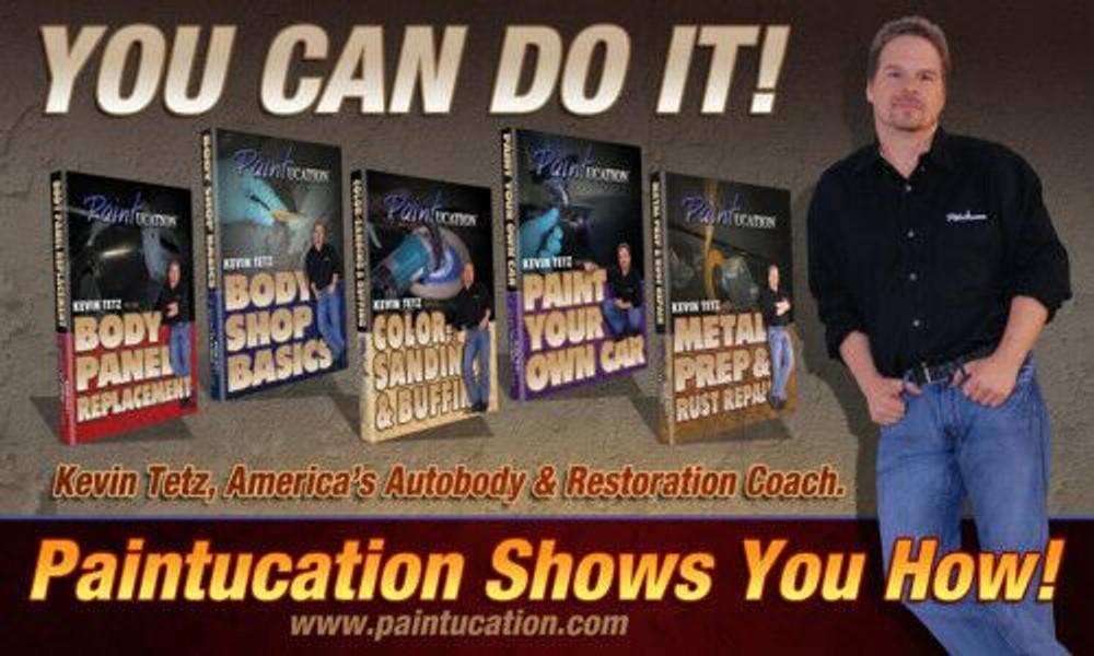 PAINTUCATION DVD BODY SHOP BASICS KEVIN TETZ NEW!