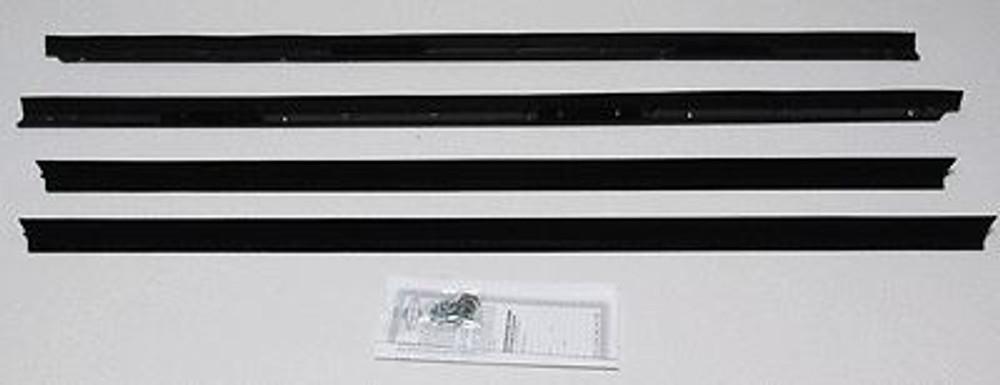 1975-1976 CADILLAC ELDORADO CONVERTIBLE WINDOW WEATHERSTRIP KIT, 4 PIECES