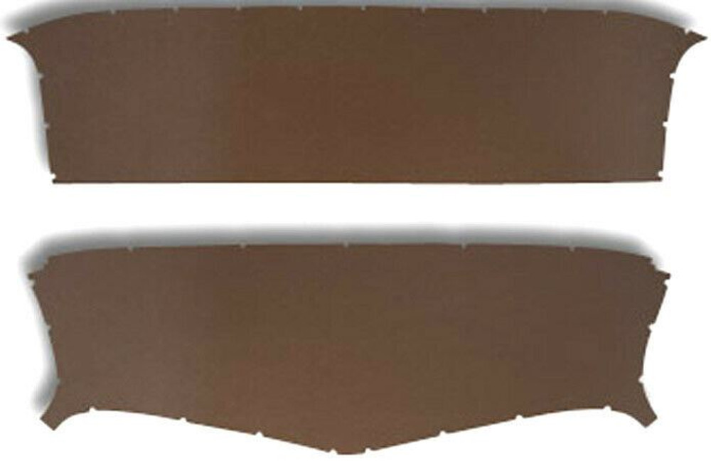 1950-1953 GM PANEL TRUCK HEADLINER BROWN COLOR, 2 PCS