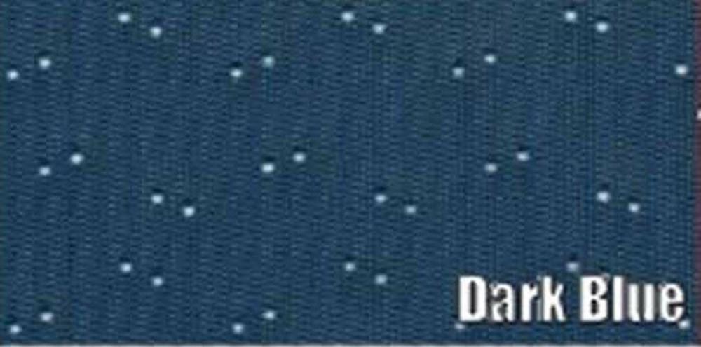 1962 PLYMOUTH 2 DOOR SEDAN 5 BOW HEADLINER, PERFORATED PATTERN, DARK BLUE COLOR