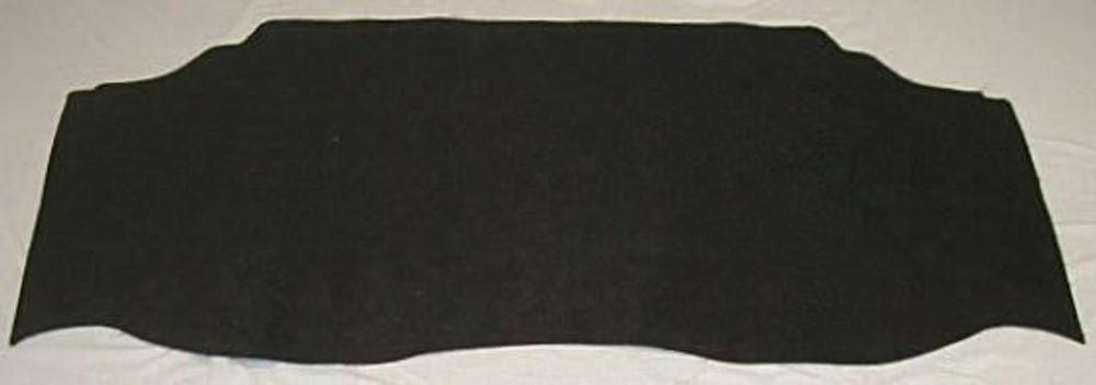 1971-1972 CADILLAC ELDORADO CONVERTIBLE TRUNK CARPET, BLACK