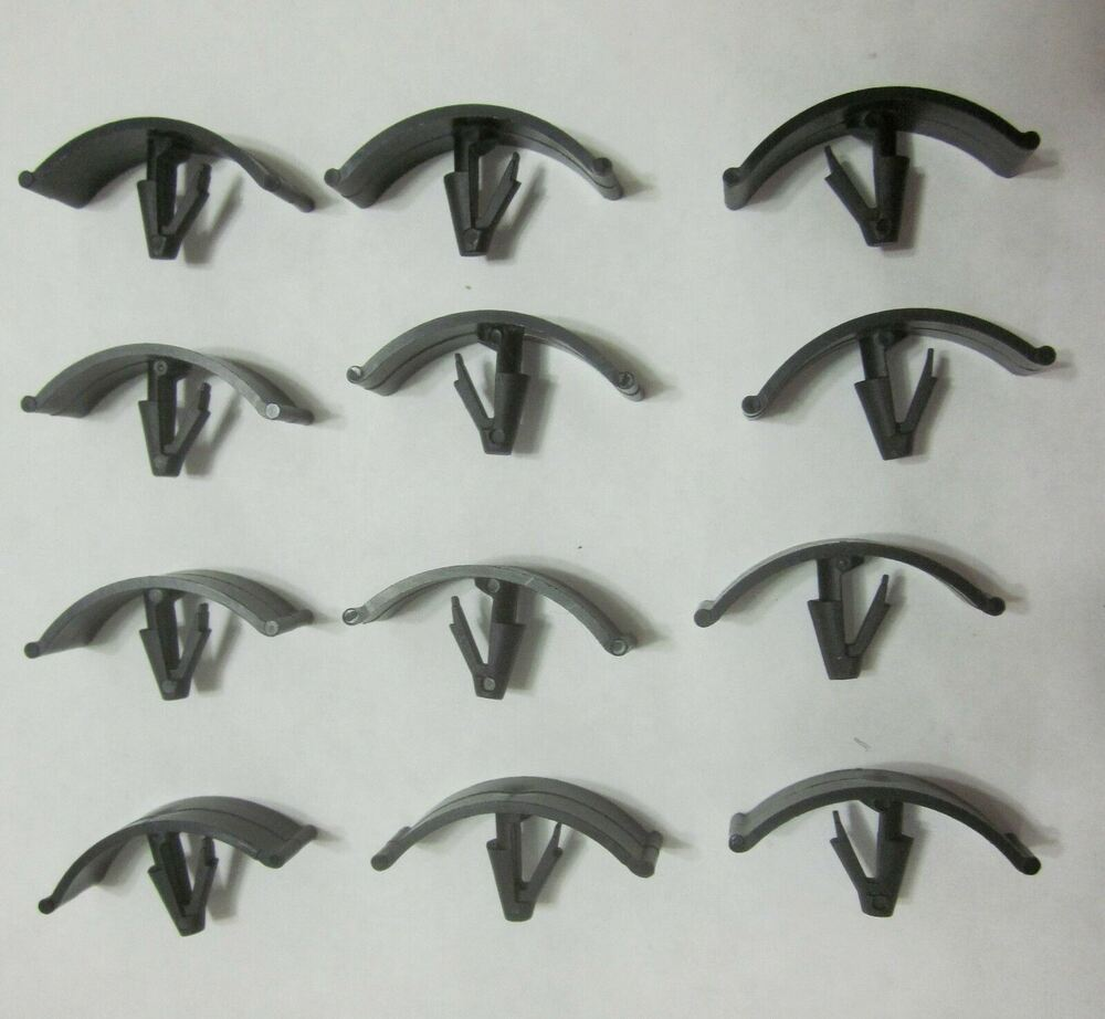 1972 - Up  Ford/ Chrysler Universal Hood Insulation Retainer Clip Set 12pc
