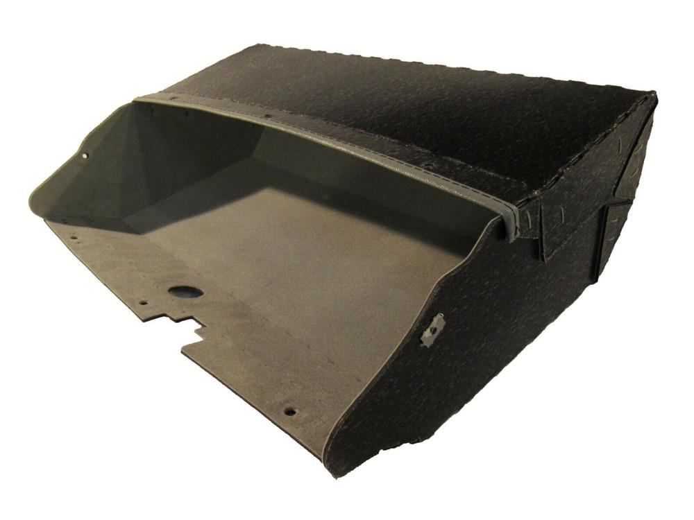 1958 PONTIAC BONNEVILLE GLOVE BOX, GRAY FELT