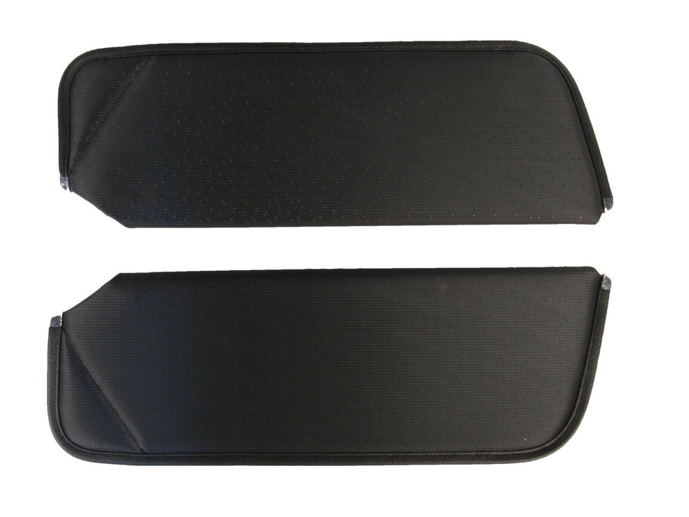 1971-1973 CHEVY CAMARO SUNVISORS, PERFORATED PATTERN,12 COLORS, PAIR
