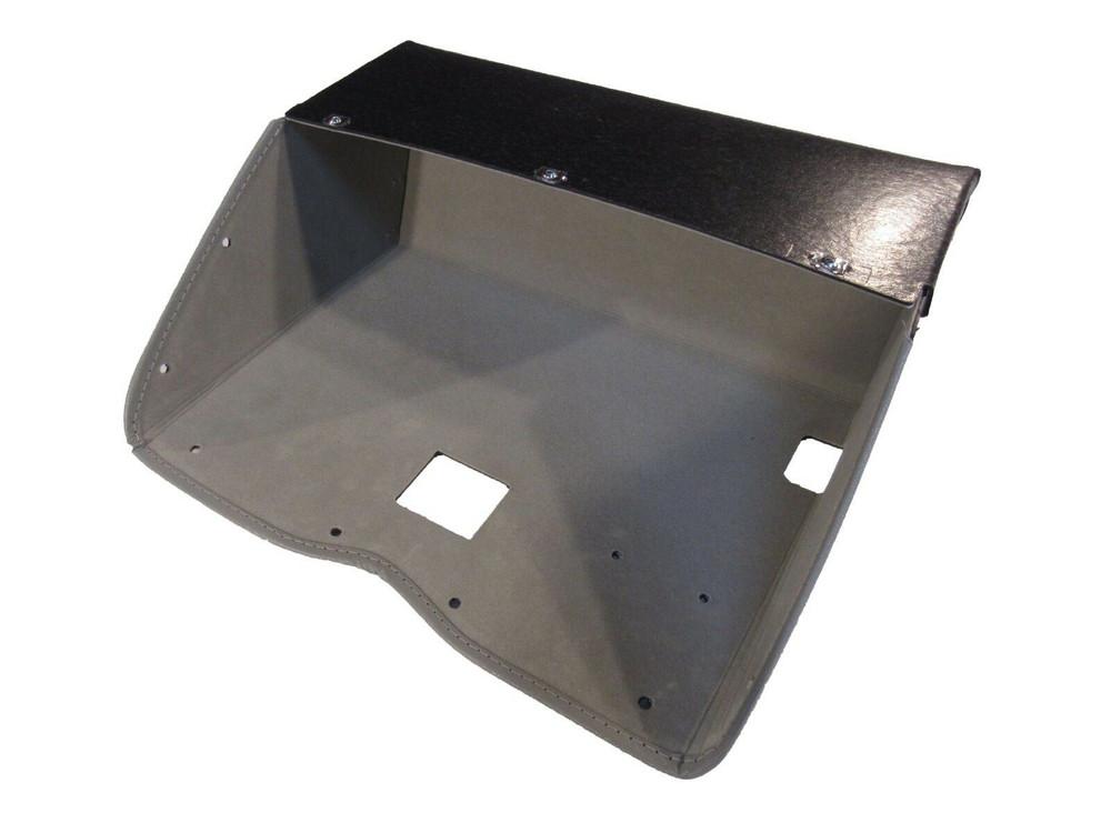 1961-1962 BUICK GLOVE BOX, GREY FELT