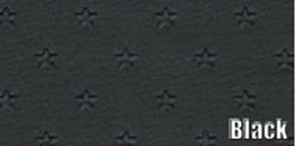 1962 PONTIAC GRAN PRIX SUN VISORS, STAR PATTERN, BLACK COLOR, PAIR