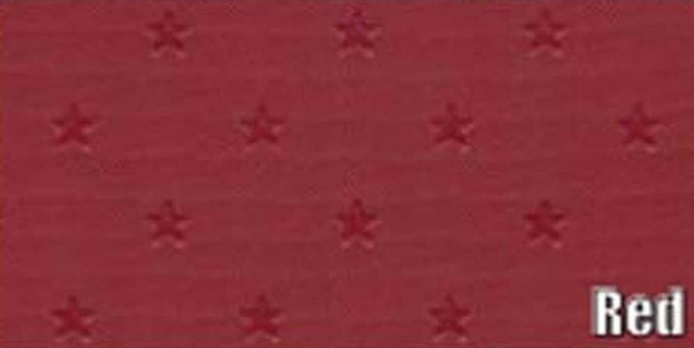 1962 PONTIAC GRAN PRIX 6 BOW HEADLINER/SAIL PANEL KIT, STAR PATTERN, RED COLOR