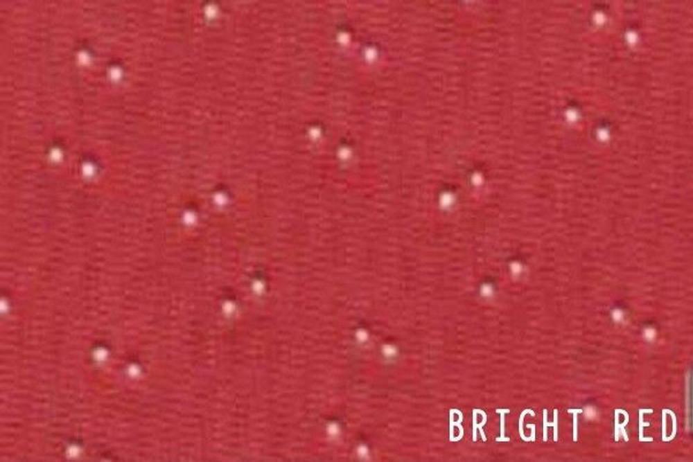 1969-1972 GRAN PRIX 5 BOW HEADLINER/SAIL PANEL KIT PERFORATED GRAIN, BRIGHT RED
