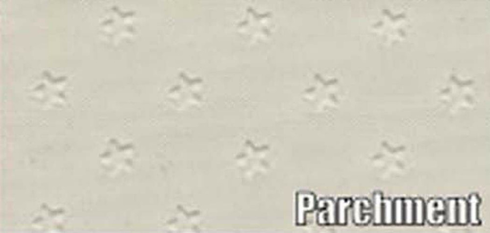 1962 PONTIAC GRAN PRIX 6 BOW HEADLINER/SAIL PANEL KIT, STAR PATTERN, PARCHMENT