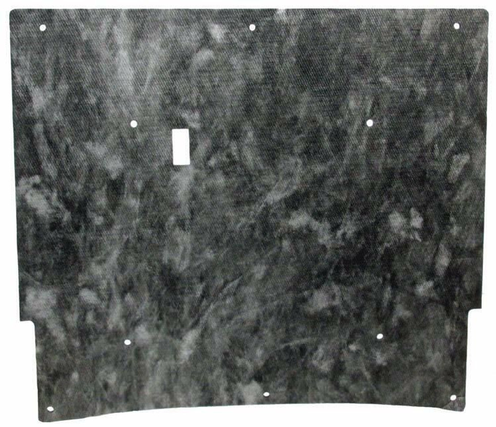 1969-1970 MERECURY COUGAR & FORD MUSTANG HOOD INSULATION KIT w/CLIPS
