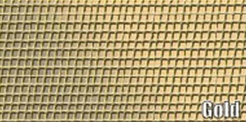 1962 CADILLAC 4 DOOR SEDAN 4 WINDOW MESH PACKAGE TRAY, GOLD COLOR