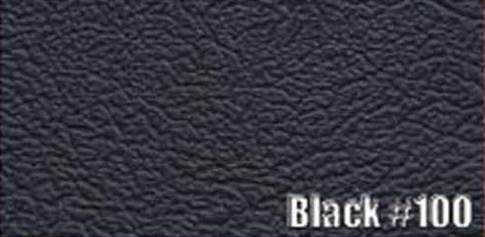 1964-1966 PLYMOUTH BARRACUDA SUN VISORS, BISON PATTERN, BLACK COLOR, PAIR