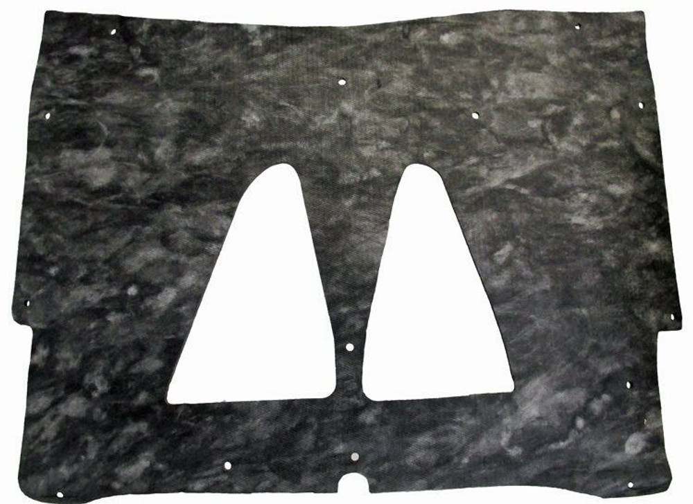 1973 GTO & LEMANS  HOOD INSULATION KIT INCLUDES CLIPS