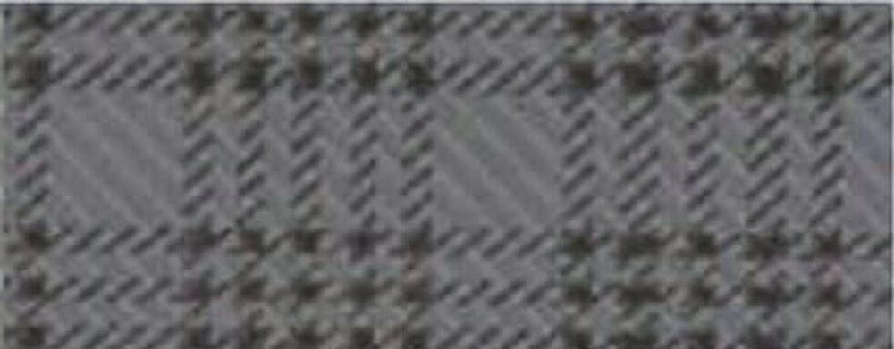 1960 -1962 PLYMOUTH VALIANT TRUNK MAT, GREY PLAID PRINTED VINYL