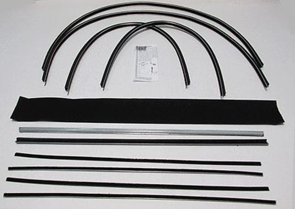 1955 1956 1957 CHEVROLET NOMAD WINDOW WEATHERSTRIP 10pc