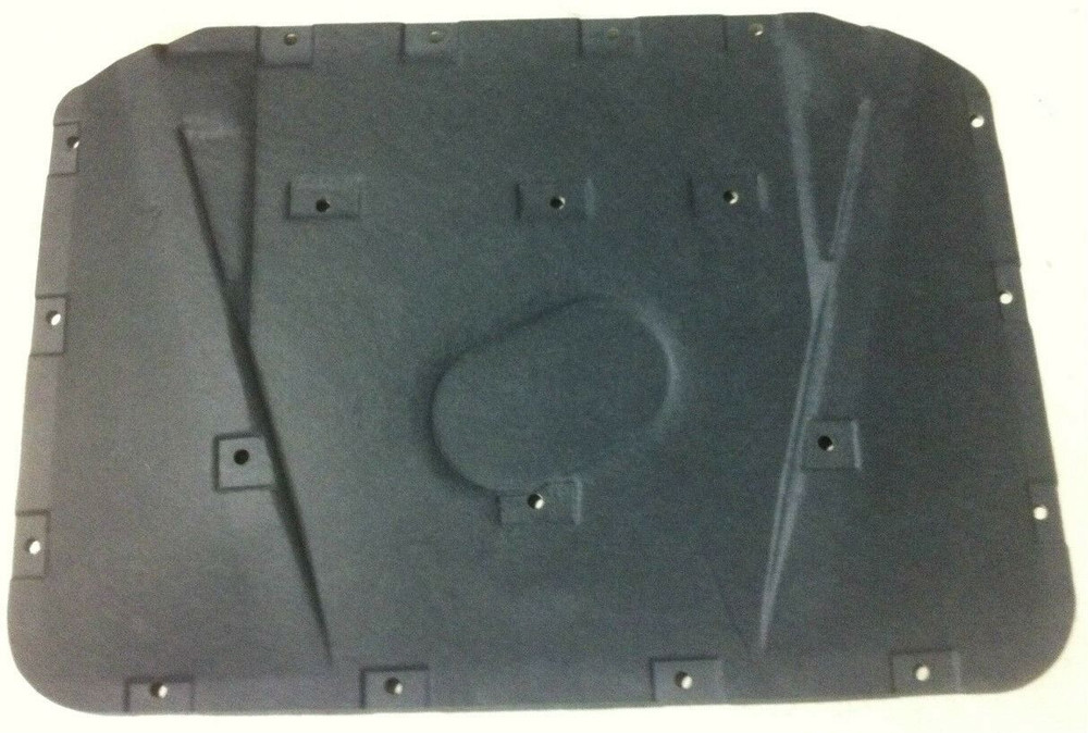 1971-1974 MOPAR 'B' BODY, (EXCEPT CHARGER) MOLDED HOOD INSULATION KIT, w/CLIPS