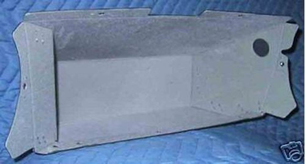 1965-1966 FORD MUSTANG GLOVE BOX LINER WITH GRAY FLOCKING