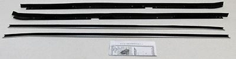 1981-87 BUICK REGAL 2 DOOR WITH SPECIAL MOLDING   BELTLINE WEATHERSTRIP 4 PIECES