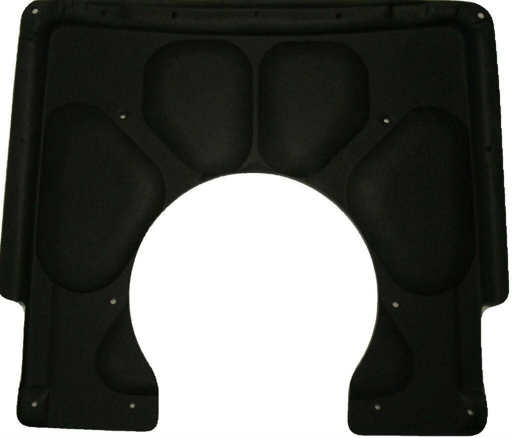 1967-1969 CHEVY CAMARO w/COWL INDUCTION HOOD,  MOLDED HOOD INSULATION PAD